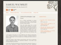 Samuel Waumsley Clinical Psychologist